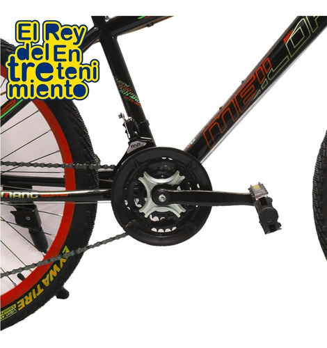 bicicleta montaña hombre rodado 24 frenos de disco - el rey