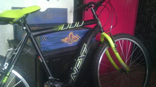 bicicleta montaña next rodada 26 de 21 cambios nueva