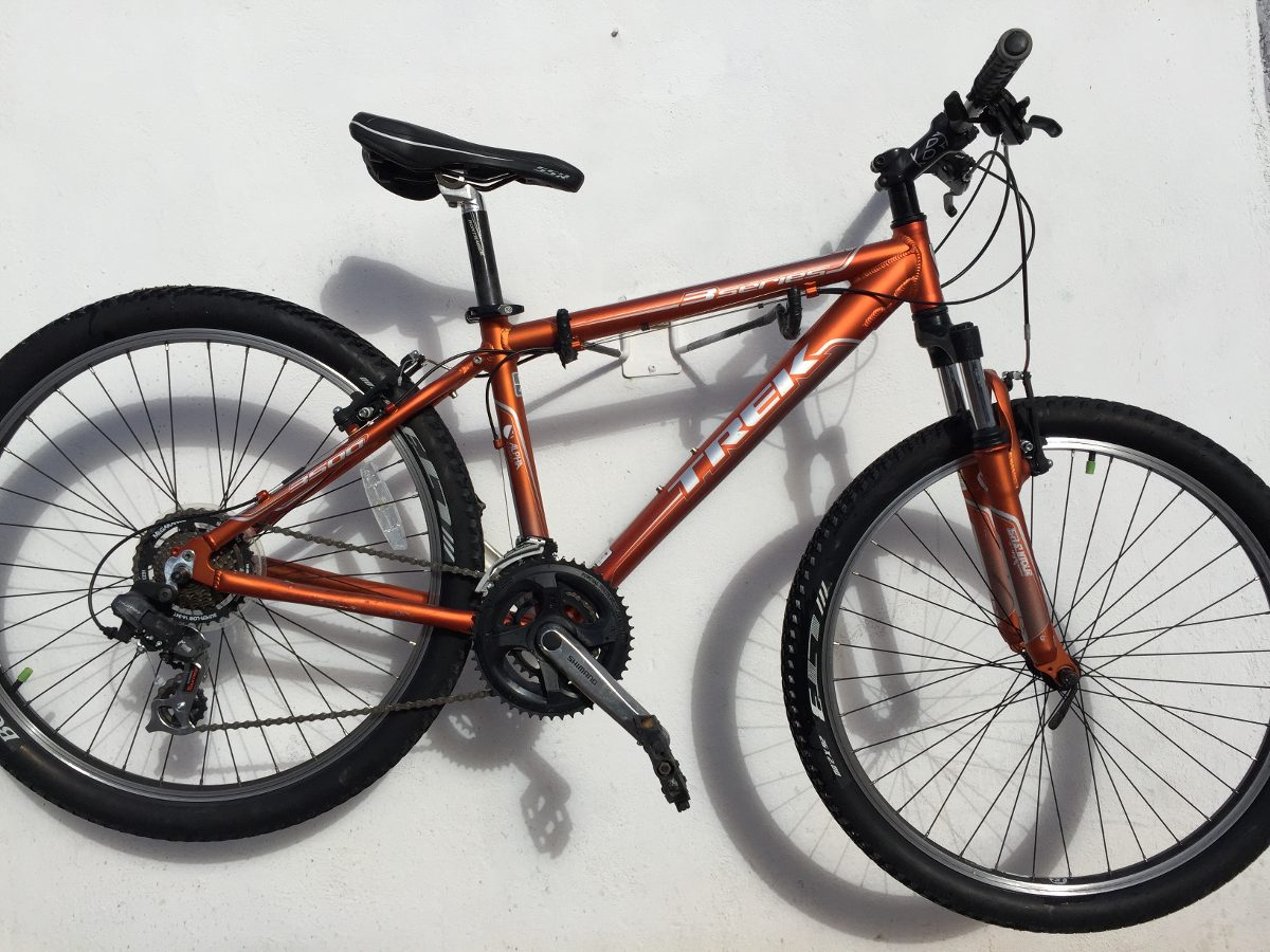 Bicicleta Montaña Trek 3500 Metallic Orange Aluminio ...