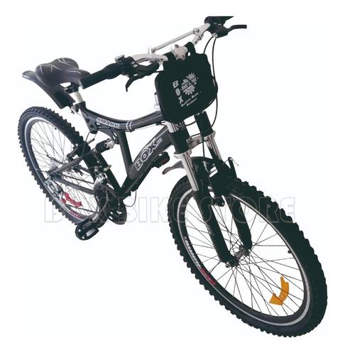 bicicleta montañera aro 26 doble amortiguador unisex