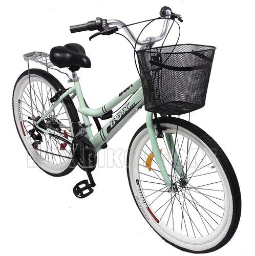 bicicleta montañera aro 26 modelo 2019- verde