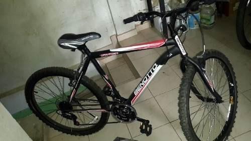 bicicleta montañera benotto rin 26 de 21 velocidades
