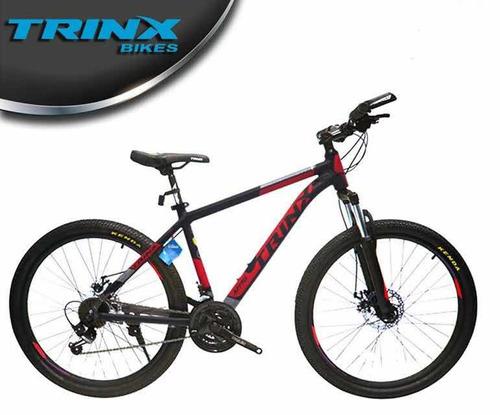 bicicleta montañera de aluminio trinx