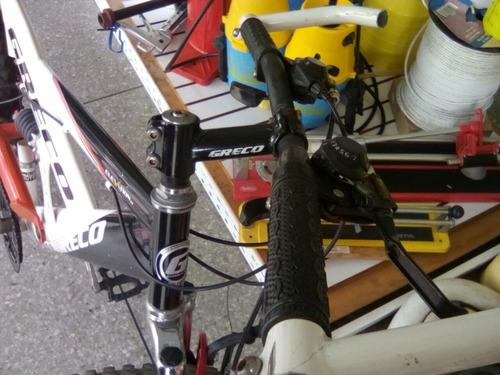 bicicleta montañera greco