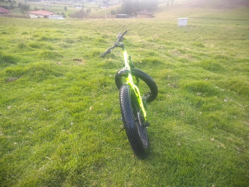 bicicleta montañera gti