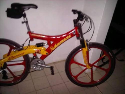 bicicleta montañera importada kamikaze 26 partes shimano