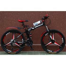 Bicicleta Montañera Plegable Rin 26 Velocidades 21