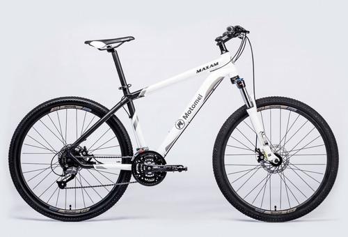 bicicleta motomel maxam 475 rodado 27,5 27 vel disco mec