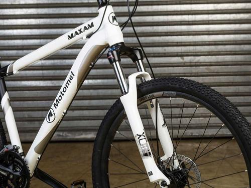 bicicleta motomel r27.5 mtb maxam 475 disco mecanico