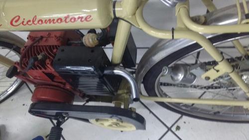 bicicleta motor retro 4 tempos benelli ciclomotore montg