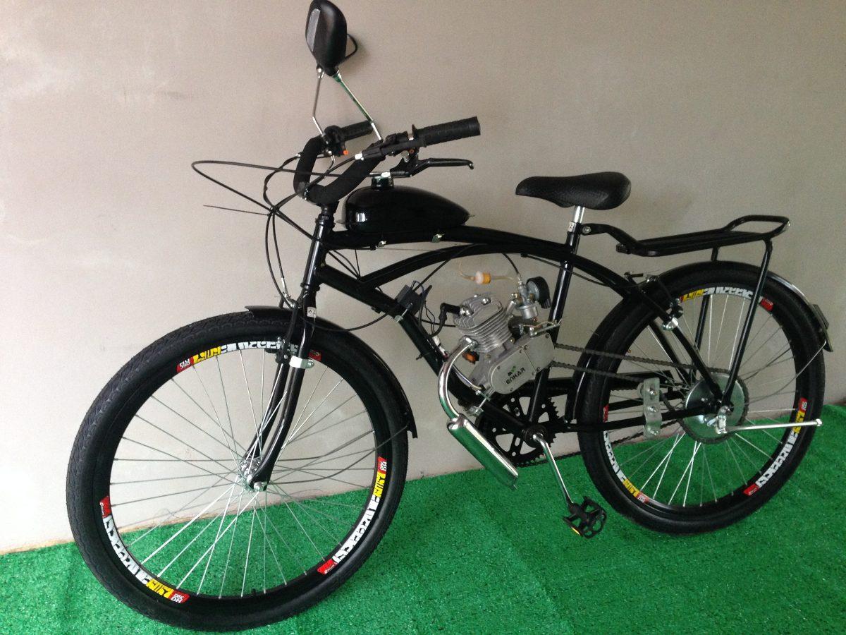 Bicicleta Motorizada 80cc 3hp Aro 26 Motor Bike Beach ...