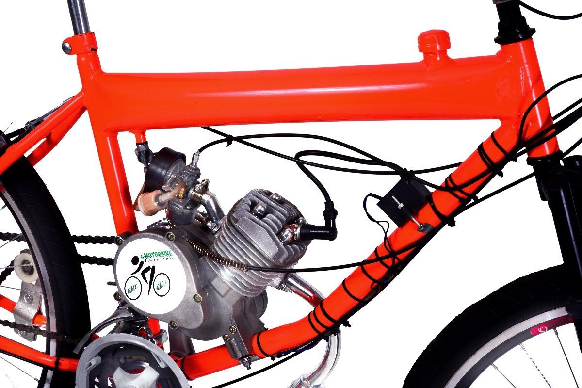 6f53723c8 bicicleta motorizada 80cc tanque embutido motor emotorbike. Carregando zoom.