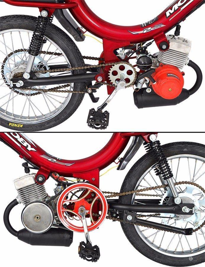 Bicicleta Motorizada Mobilete Moby 2t Bikelete 40cc R 3 799 00