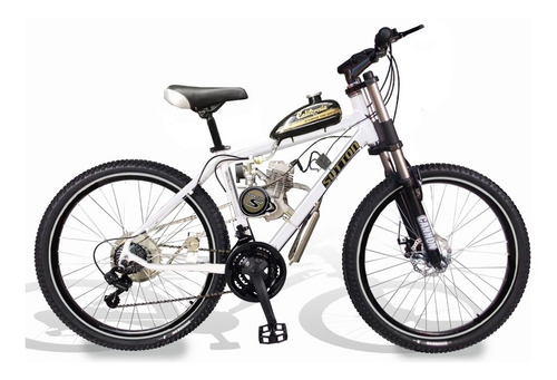 bicicleta motorizada mtb sport 2t kit motor 80cc aro 26