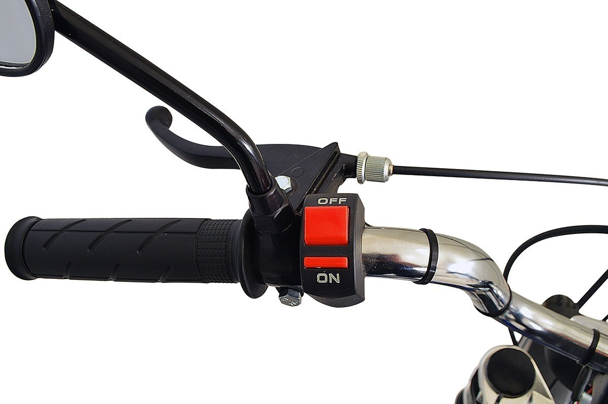 Bicicleta Motorizada Wmx Sport Mobilete 40cc Bikelete Aro 17 R