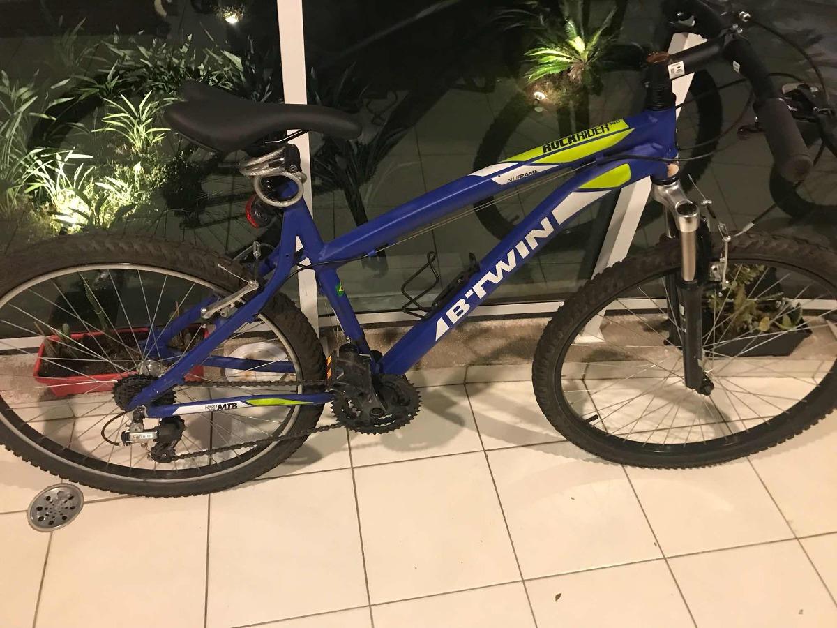 5a356cf09 bicicleta mountain bike btwin rockrider 340. Carregando zoom.
