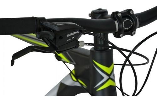 bicicleta mountain bike forest rod 27 alu 21v bloqueo cuotas