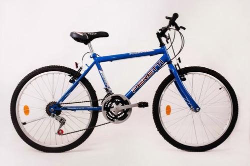 bicicleta mountain bike peretti r26 21vel + linga o led
