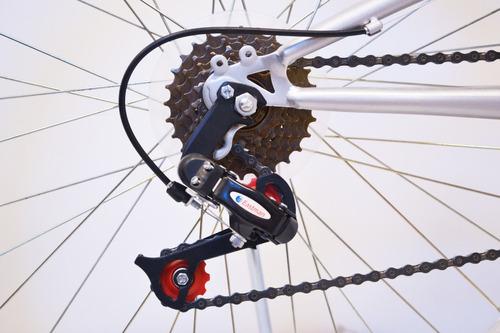 bicicleta mountain bike rodado 26 doble suspension forest cuadro reforzado cambios llantas varios colores happy buy