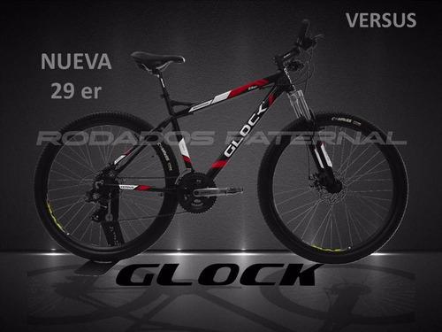 bicicleta mountain bike rodado 29 glock shimano disco envios