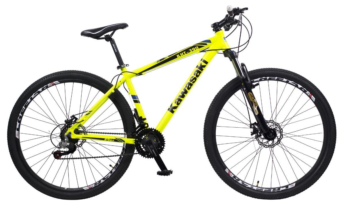 4237752c7 bicicleta mountain bike rodado 29 kawasaki freno disco 21vel. Cargando zoom.
