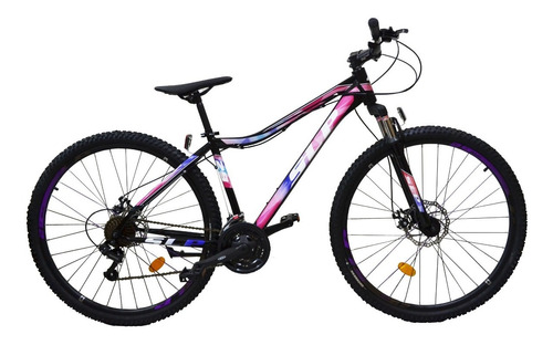 bicicleta mountain bike rodado 29 slp 5 - cambios shimano frenos a disco llantas doble pared suspension nueva happy buy