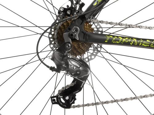 bicicleta mountain bike rodado 29 top mega sunshine aluminio shimano discos suspension llanta doble varon mujer happy !
