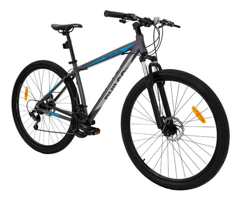 bicicleta mountain bike shimano r29 21v disco + casco regalo
