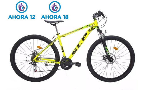 bicicleta mountain bike slp 5 r29 21v shimano f/disc susp.