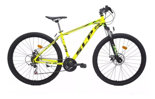 bicicleta mountain bike slp 5 r29 21v shimano f.disco susp.