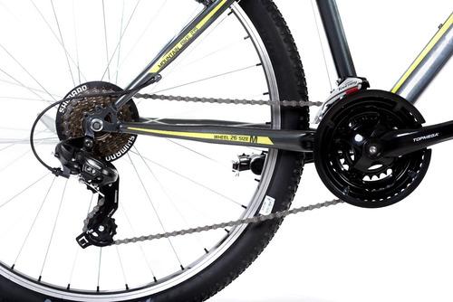 bicicleta mountain bike top mega rowen 21v r26 shimano+envio