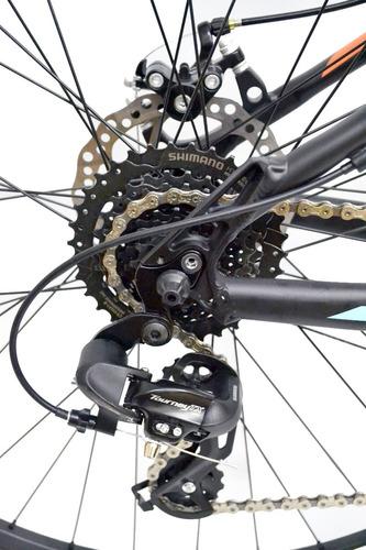 bicicleta mountain bike top mega thor r29 shimano 21 +armado