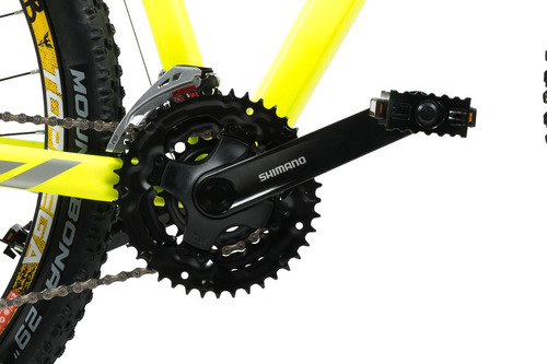 bicicleta mountain bike topmega thor r29 24v shimano+linga