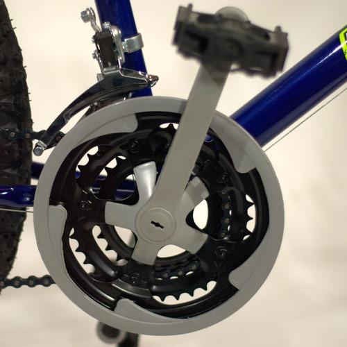 bicicleta mountain rodado 26 acero 18v reforzada varon