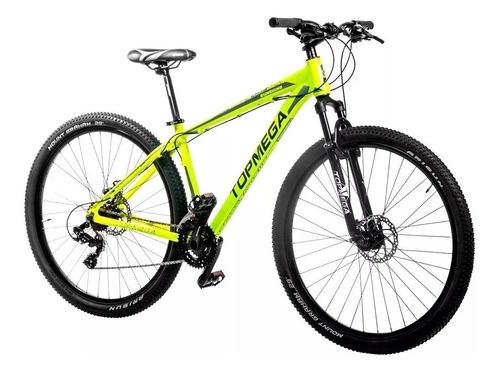 bicicleta mountain top mega alum sunshine +linga+casco+infla