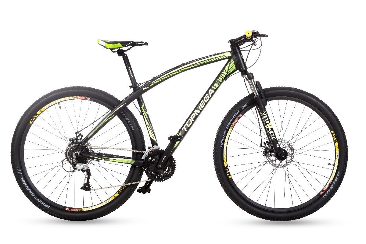 4994baae72ef4 bicicleta mountain top mega envoy r29 27v altus + linga +led. Cargando zoom.