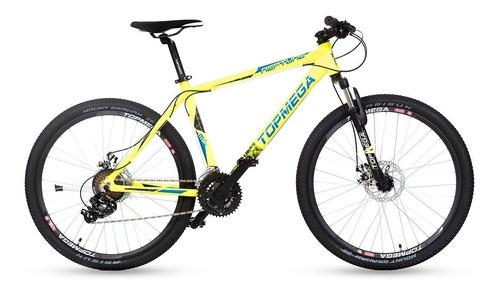 bicicleta mountain topmega neptune r26 shimano 21v+inflador.