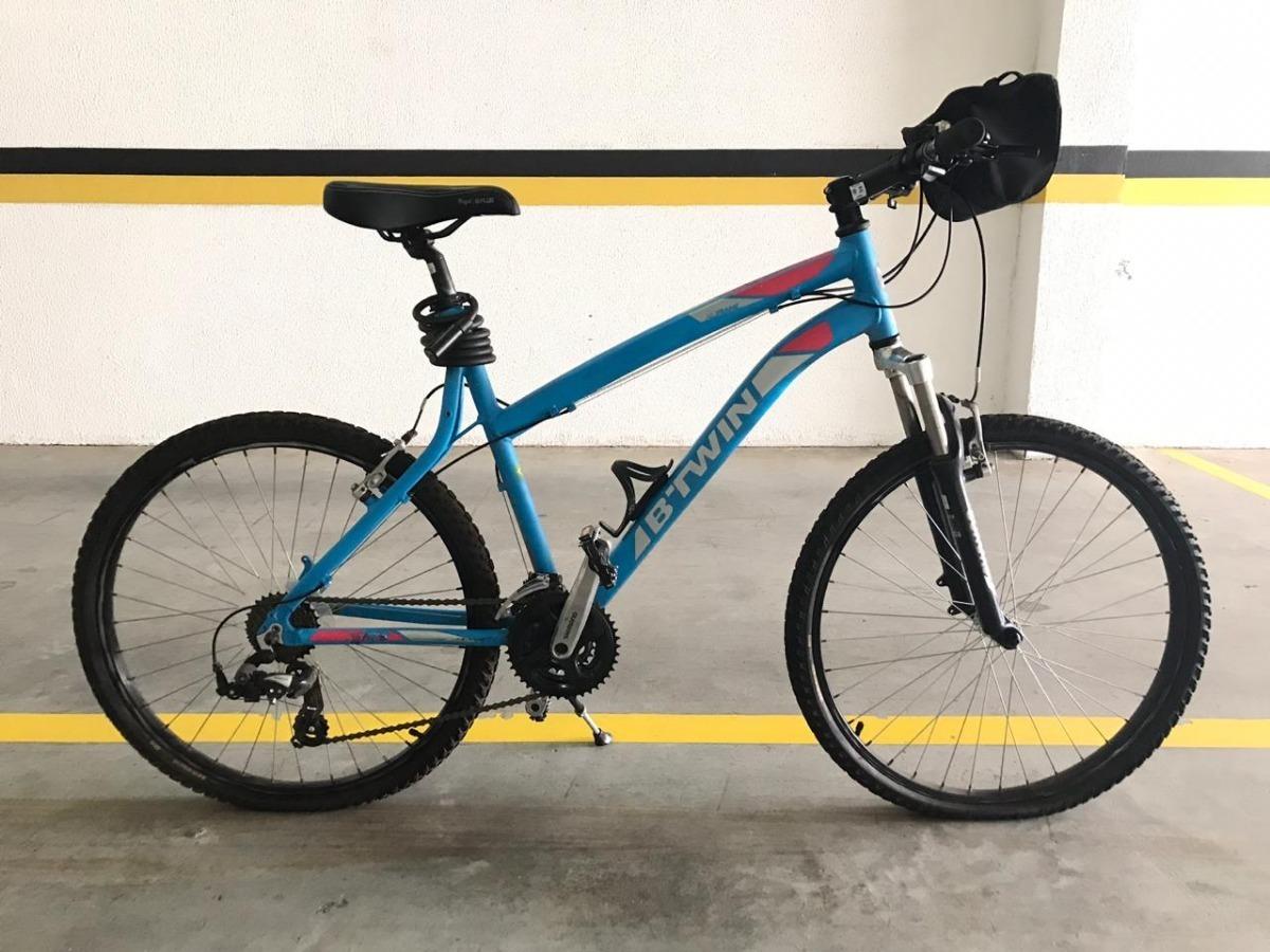 Bicicleta Mtb Aro 26 Btwin Rockrider 340 Seminova