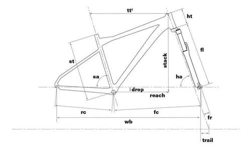 bicicleta mtb bmc sportelite deore 20v - tamanho m / 18