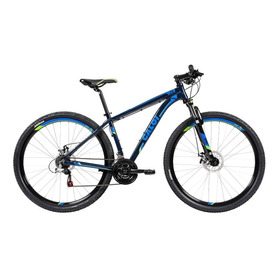 Bicicleta Mtb Caloi 29 Aro 29 - Freio A Disco 21 Vel - Azul