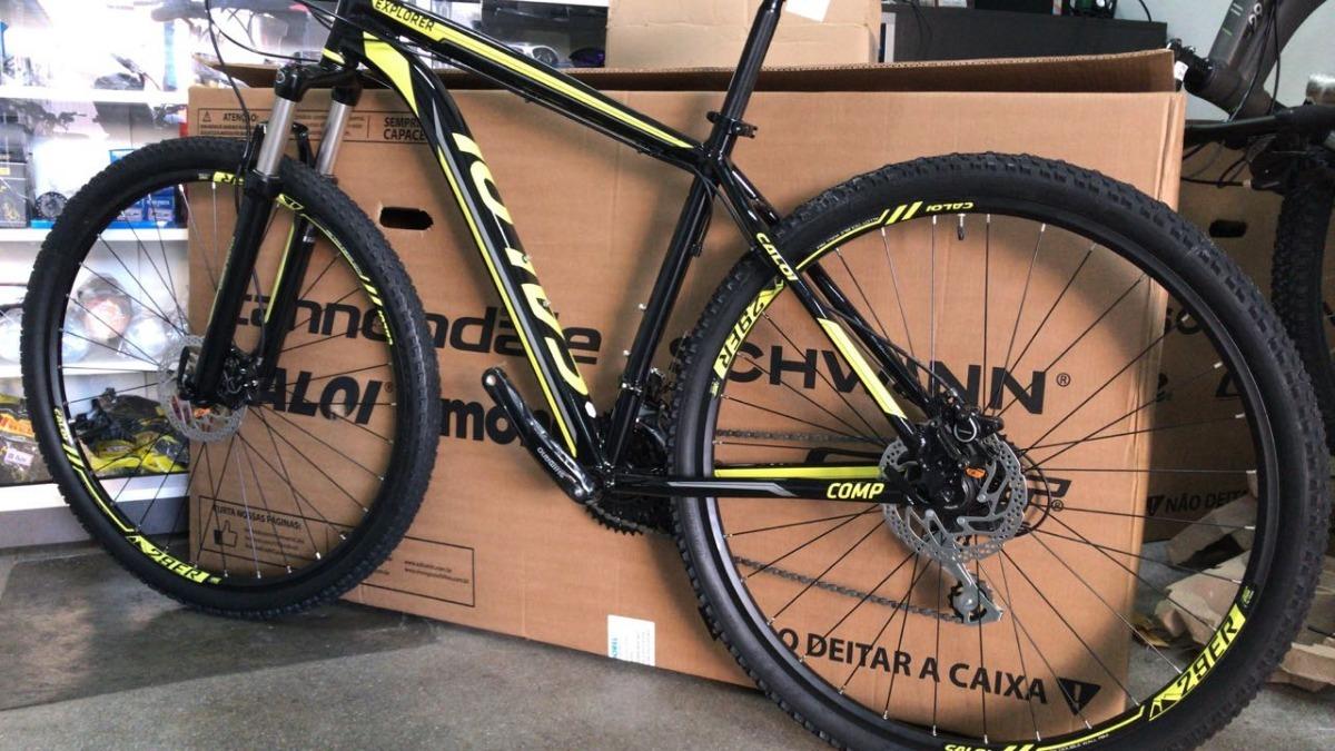 2fca23436 bicicleta mtb caloi explorer comp 24v aro 29 mod. 2018. Carregando zoom.