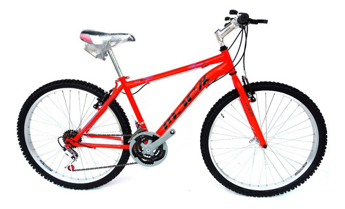 bicicleta mtb con cambios rin 24 y 26