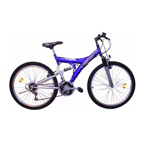 Bicicleta Mtb Doble Suspension Peretti R26 21v Envío Gratis