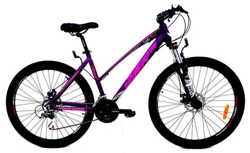 bicicleta mtb fire bird dama 27.5-21 v.envio gratis c/discos