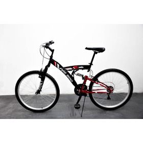 Bicicleta Mtb Firebird Rodado 26 18v Mountain Bike Negro