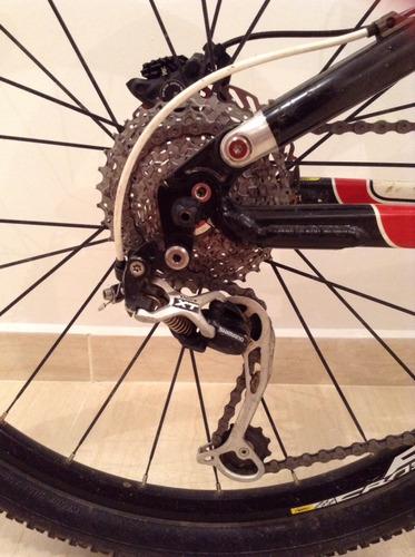 bicicleta mtb jamis dakar team 26  fibra de carbono 17