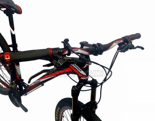 bicicleta mtb mosso 29er - 27v - frenos hidráulicos shimano