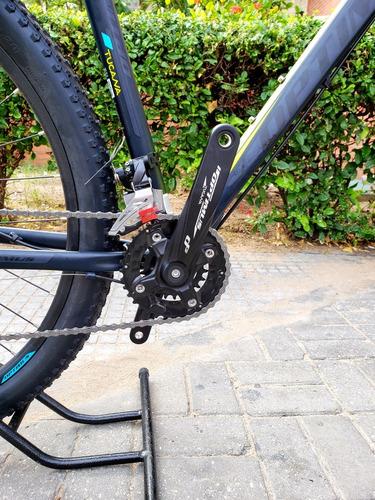 bicicleta mtb optimus tucana deore 10 vel biplato bloqueo