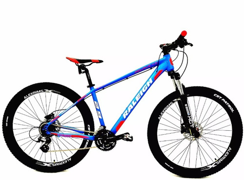 bicicleta mtb raleigh 4.0 rod 29 - 24 vel - disco hidraulico