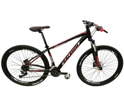 bicicleta mtb raleigh 4.0 rod 29 - 27 vel - disco hidraulico